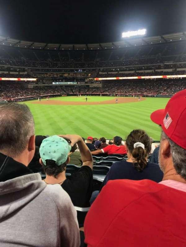 Angel Stadium, section: P239, row: M, seat: 17