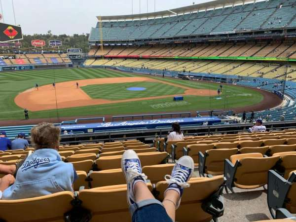 Dodger Stadium, section: 135LG, row: K, seat: 1
