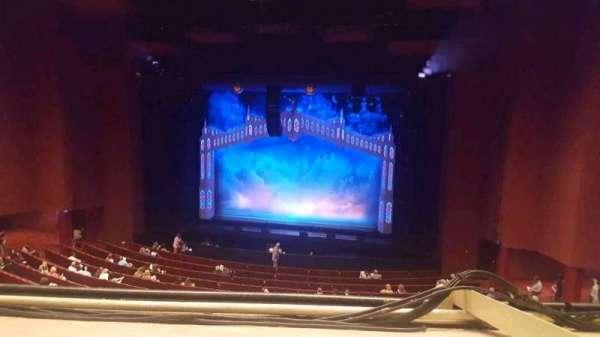 San Diego Civic Theatre, section mezzanine, row O