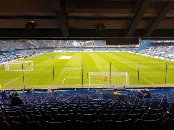 Stamford Bridge, section: Matthew Harding Stand, row: GG, seat: 91