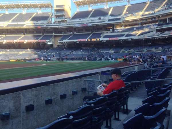 Petco Park, section: 114, row: 3, seat: 10