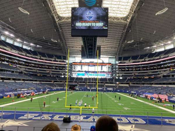 AT&T Stadium, section: 124, row: 18, seat: 8