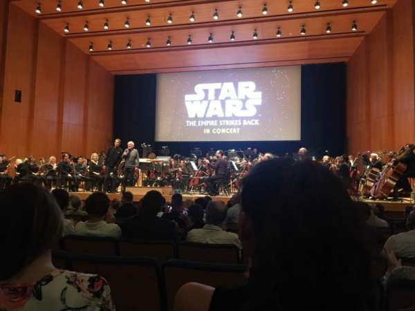Abravanel Hall, section: Orch right, row: 10, seat: 21
