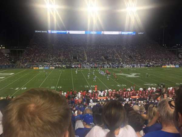 LaVell Edwards Stadium, section: 7, row: 30, seat: 6