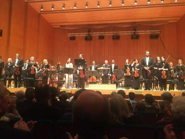 Abravanel Hall, section: OR, row: 7, seat: 5
