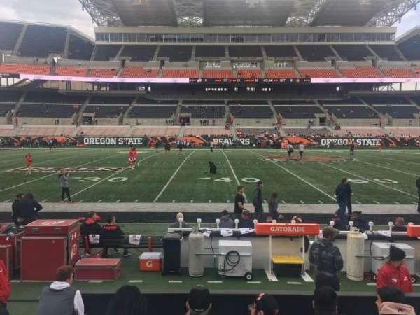 Reser Stadium, section: 12, row: 7, seat: 11