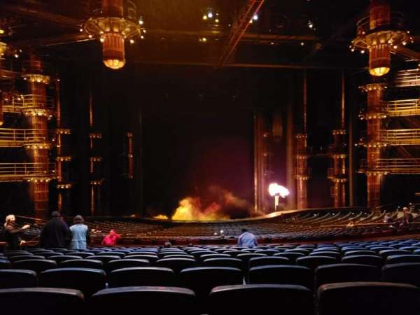 KÀ Theatre - MGM Grand, section: 202, row: mm, seat: 5