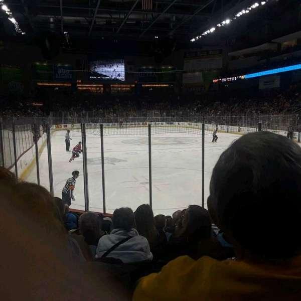 Huntington Center, section: 102, row: j, seat: 8