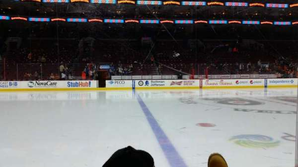 Wells Fargo Center, section: 112, row: 2, seat: 12