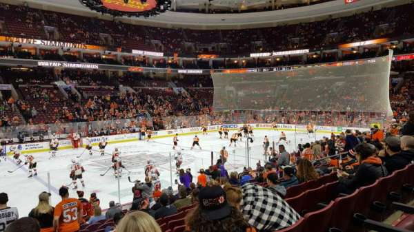 Wells Fargo Center, section: 112, row: 14, seat: 4