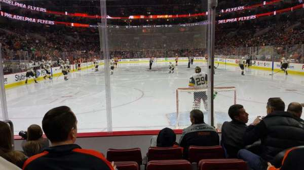 Wells Fargo Center, section: 107, row: 5, seat: 3