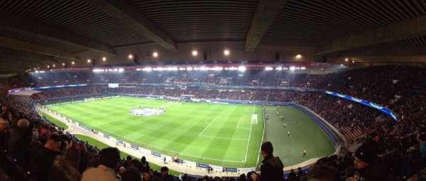 Parc des Princes, section: 407, row: 21, seat: 38