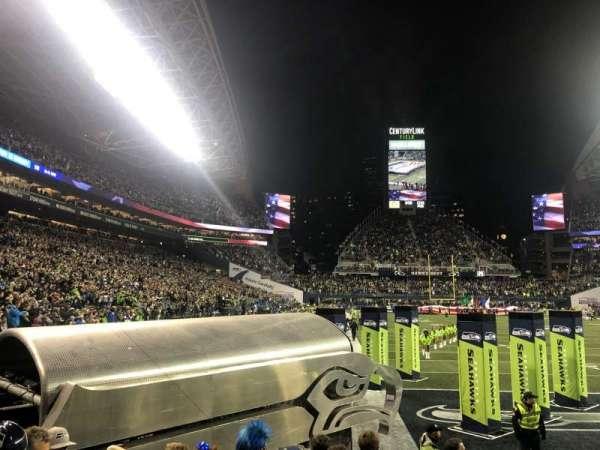 CenturyLink Field, section: 125, row: G, seat: 8