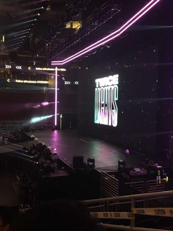 Prudential Center, section: 9, row: 12, seat: 6