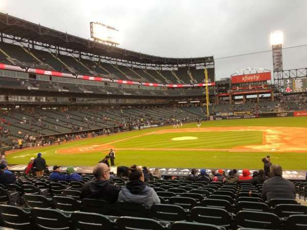Guaranteed Rate Field, section: 124, row: 21, seat: 2