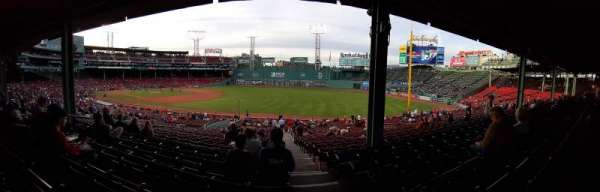 Fenway Park, section: Grandstand 10, row: 7, seat: 1