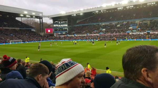 Villa Park, section: Doug Ellis lower, row: L, seat: 36