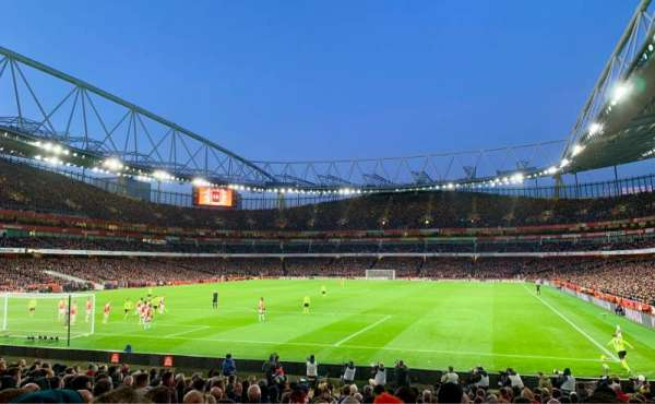 Emirates Stadium, section: 23, row: 19, seat: 705