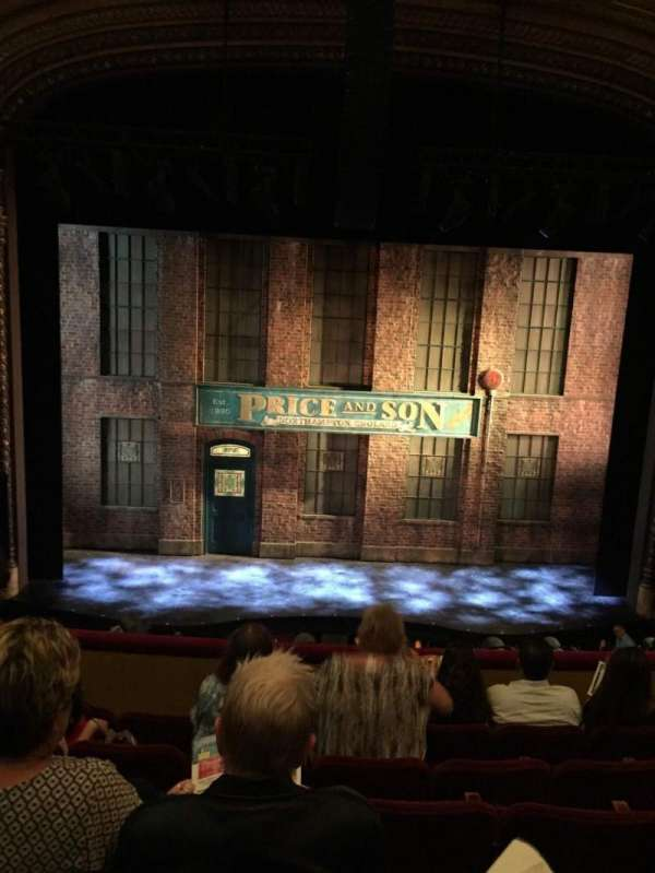 Al Hirschfeld Theatre, section: Mezzanine, row: F, seat: 106