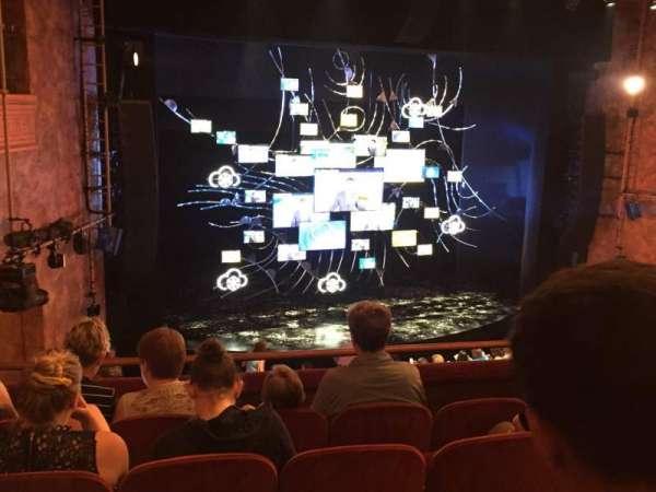 August Wilson Theatre, section: Mezzanine Left, row: E, seat: 13
