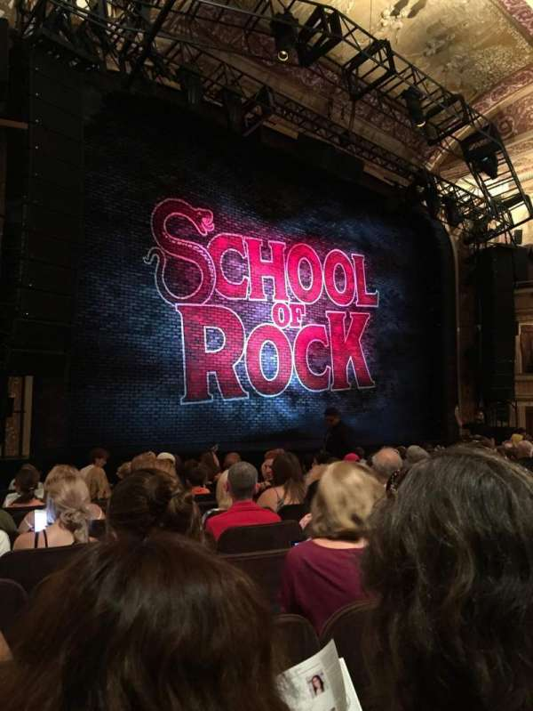 Winter Garden Theatre, section: Orchestra Left, row: K, seat: 17