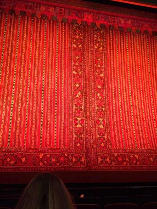 New Amsterdam Theatre, section: Orchestra Center, row: E, seat: 113