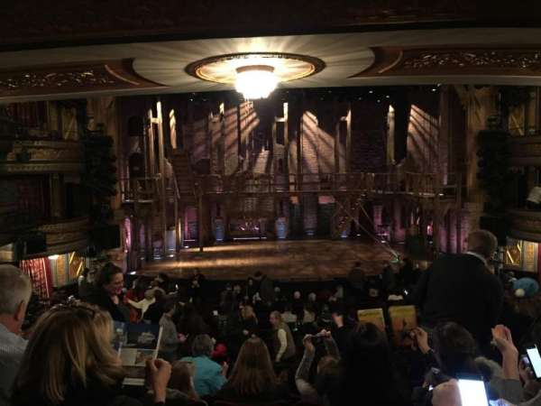 Richard Rodgers Theatre, section: Orchestra Center, row: S, seat: 110