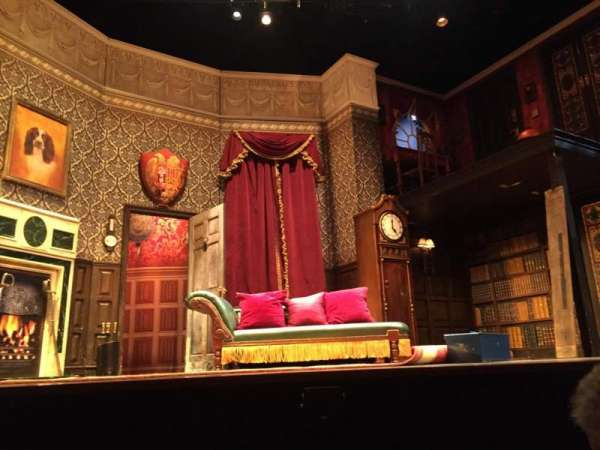 Lyceum Theatre (Broadway), section: Orch Center, row: A, seat: 109