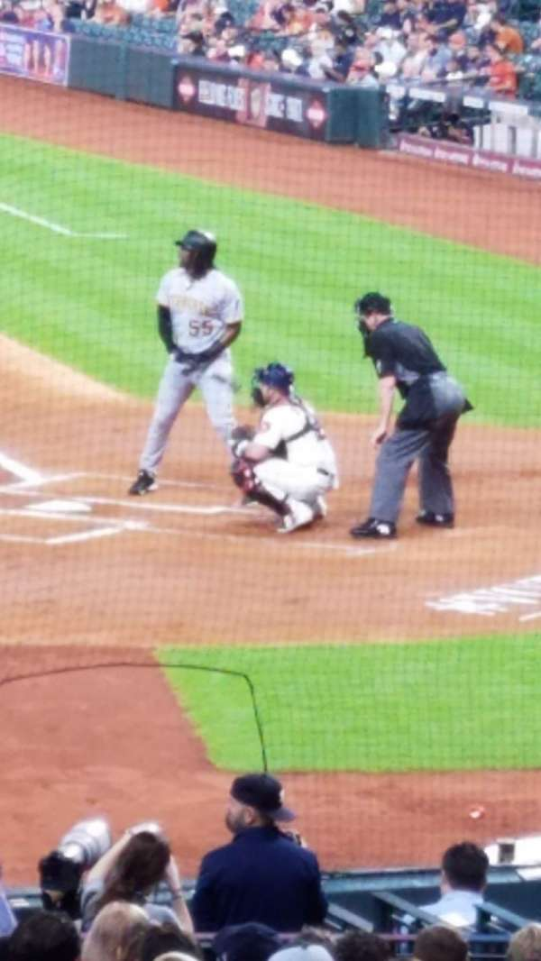 Minute Maid Park, section: 114, row: 28, seat: 1