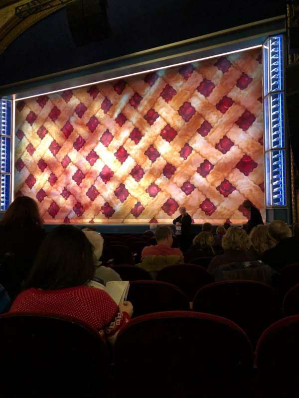 Brooks Atkinson Theatre, section: Orchestra Right, row: K, seat: 8
