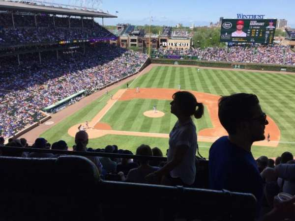 Wrigley Field, section: 528, row: 1, seat: 101