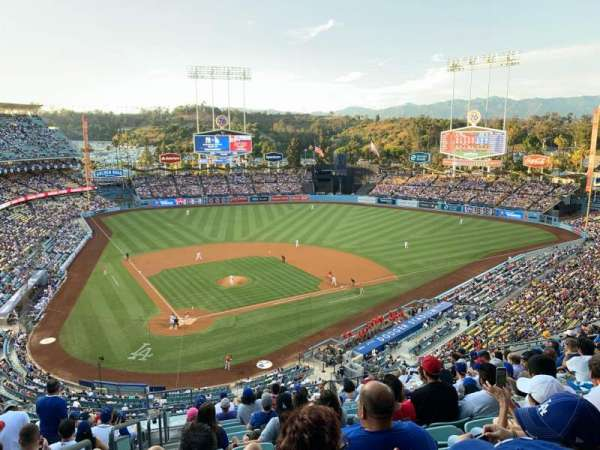 Dodger Stadium, section: 6RS, row: O, seat: 1