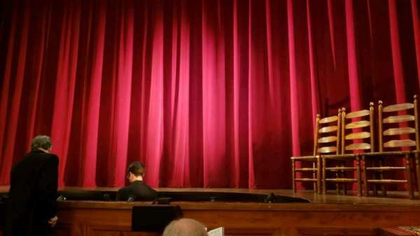 The Playhouse Theatre at the Abrons Art Center, section: Orch, row: C, seat: 13-14