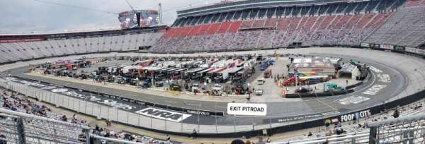 Bristol Motor Speedway, section: Pearson-I (not terrace), row: 38, seat: 4