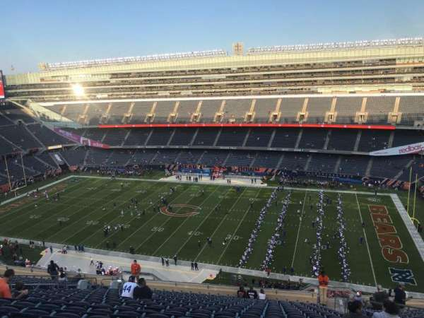 Soldier Field, section: 434, row: 20, seat: 19