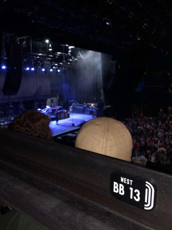 Mission Ballroom, section: BB, seat: 14