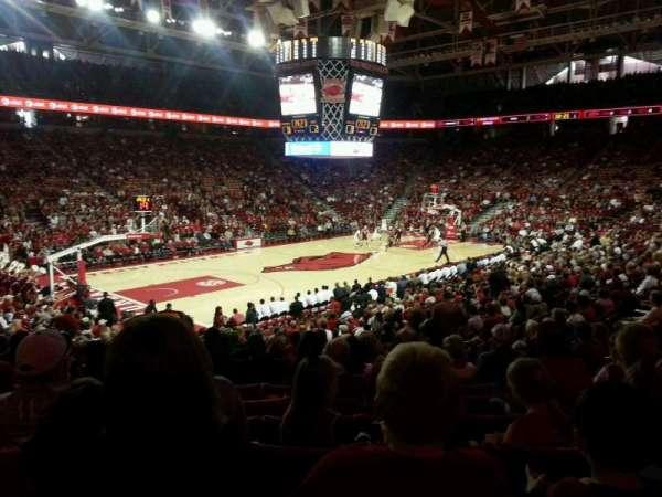 Bud Walton Arena, section: 119, row: 9, seat: 10