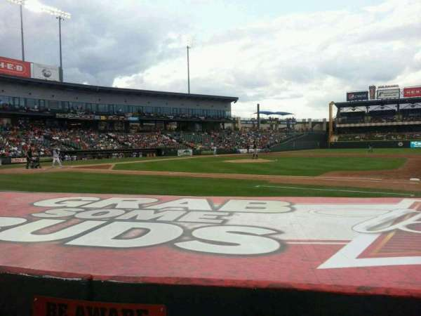 Dell Diamond, section: 124, row: 5, seat: 16