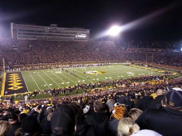 Faurot Field, section: DD, row: 66, seat: 6