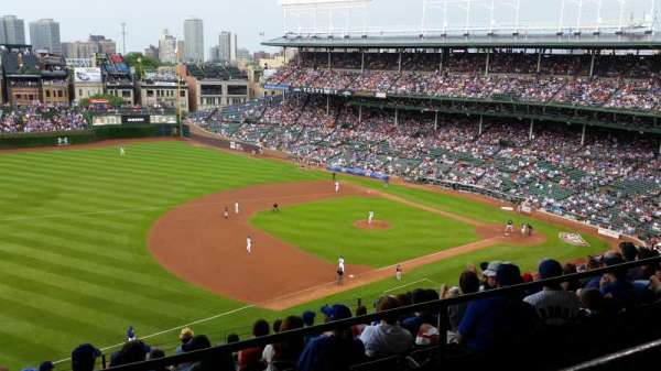 Wrigley Field, section: 509, row: 1, seat: 115