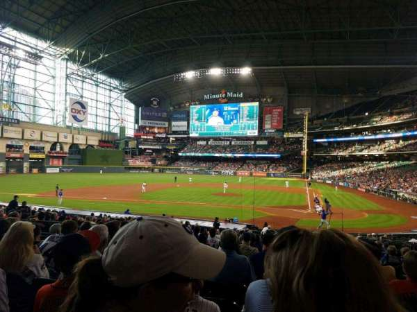 Minute Maid Park, section: 116, row: 28, seat: 12
