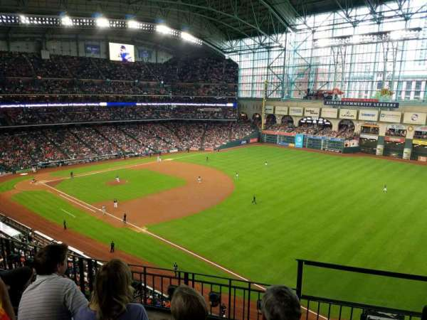 Minute Maid Park, section: 331, row: 4, seat: 12
