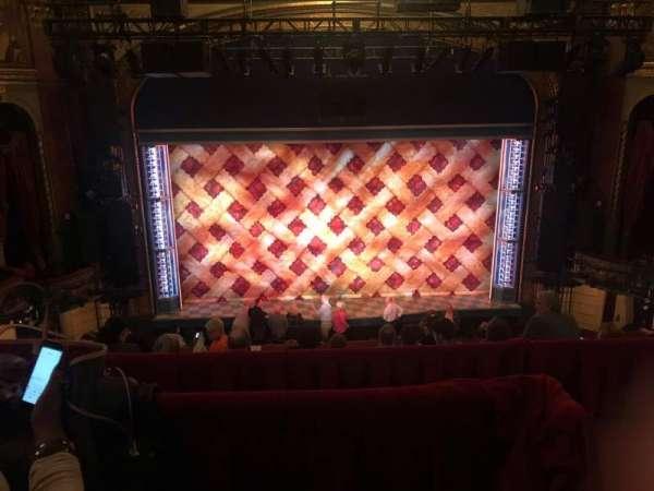 Brooks Atkinson Theatre, section: Front Mezzanine C, row: F, seat: 116