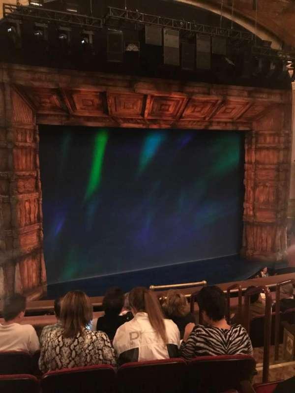 St. James Theatre, section: Mezzanine L, row: F, seat: 7