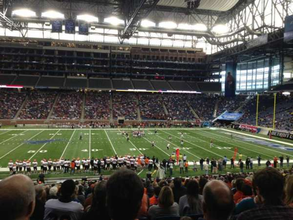 Ford Field, section: 128, row: 30, seat: 4