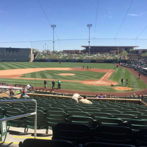 Salt River Fields, section: 214, row: 14, seat: 9