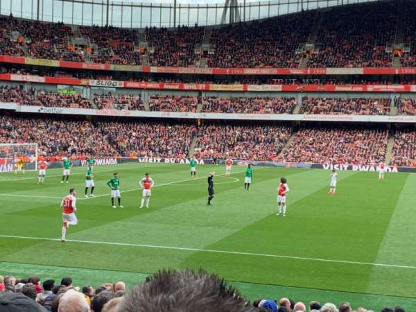 Emirates Stadium, section: 2, row: 18, seat: 36