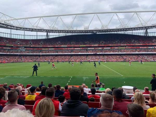 Emirates Stadium, section: 1, row: 11, seat: 11