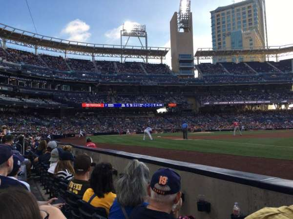 PETCO Park, section: 115, row: 2, seat: 22