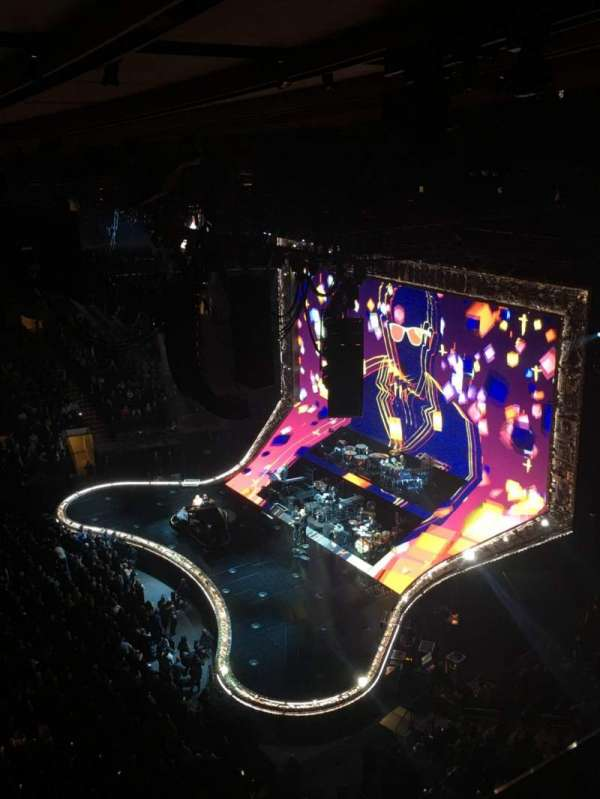 Madison Square Garden, section: 313, row: 1, seat: 6